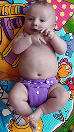 Cloth diapers are ok at this Waterloo Home daycare. (photo from wikipedia).