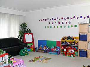 Your children will learn and play. The whole main floor is for this home daycare.